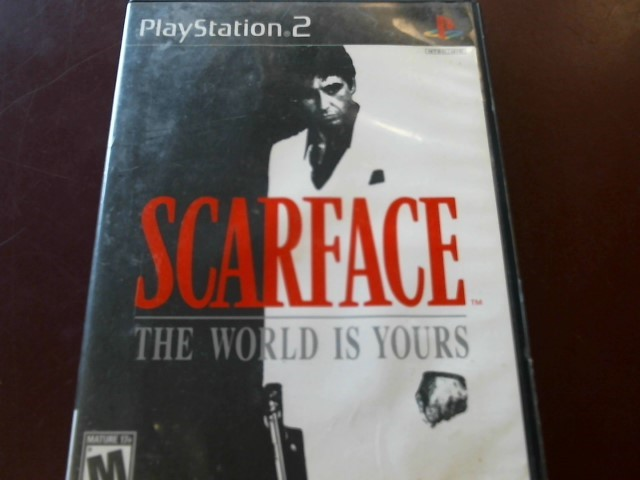 SONY PS2 SCARFACE THE WORLD IS YOURS