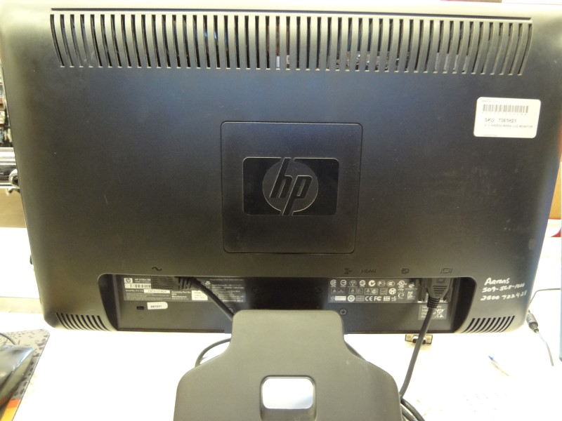 """HP 2159M 21.5"""" 1080P LCD MONITOR FULL HD WITH POWER CORD NO REMOTE"""