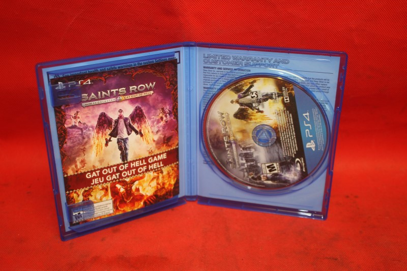 Saints Row IV: Re-Elected & Gat Out of Hell (Sony PlayStation 4, 2015) *Used*