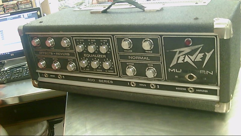 PEAVEY GUITAR AMP HEAD MUSICIAN MARK III