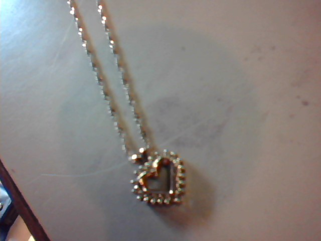 Diamond Necklace 20 Diamonds .20 Carat T.W. 10K Yellow Gold 3.2g
