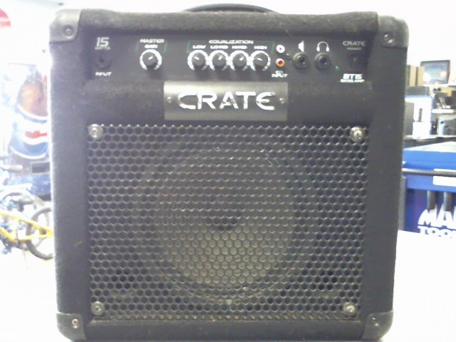 CRATE Electric Guitar Amp BT-15