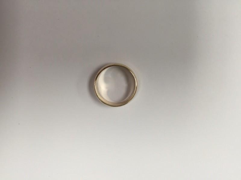 Lady's Gold Wedding Band 14K Yellow Gold 4.8g Size:6.5