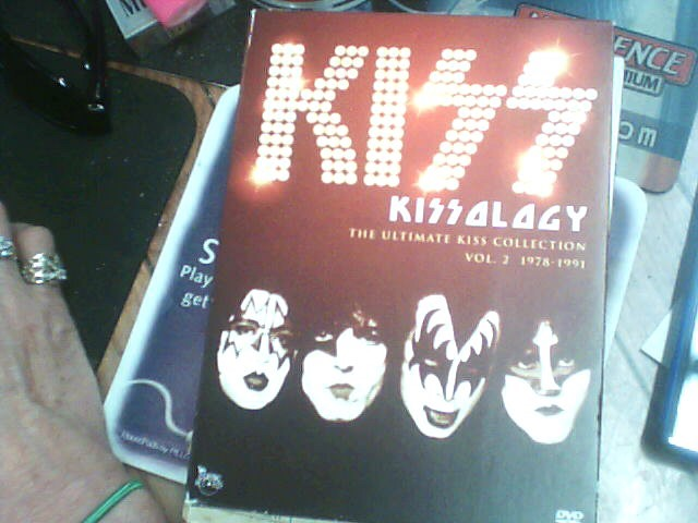 VHS MOVIE Entertainment Memorabilia KISSOLOGY VOL. 2