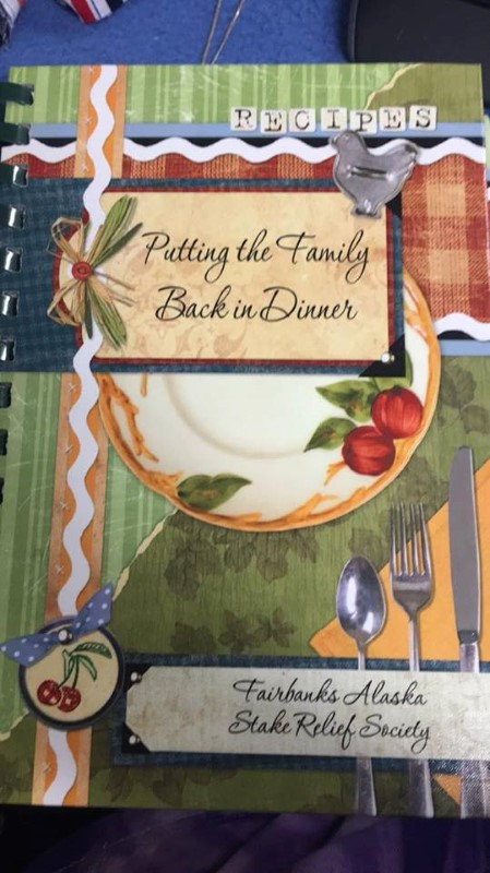 PUTTING THE FAILY BACK IN DINNER COOKBOOK