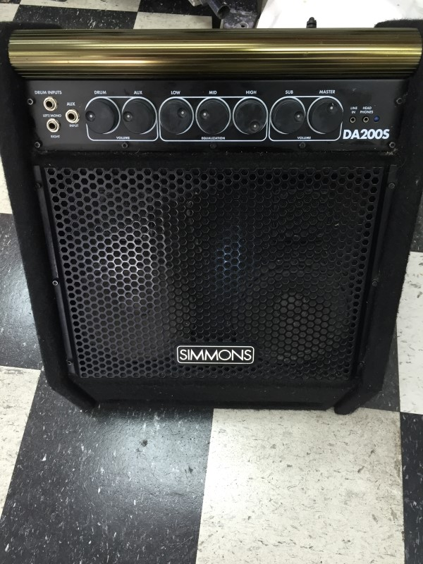 SIMMONS PERCUSSION AMP DA200S
