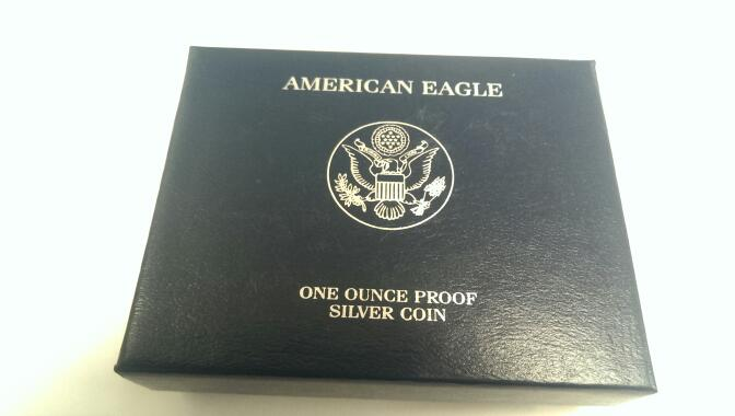 UNITED STATES 2008 AMERICAN SILVER EAGLE PROOF