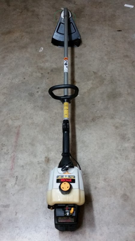 Ryobi 766R Gas Straight Shaft Weed Trimmer