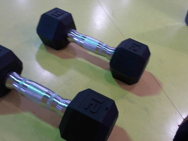 CAP Exercise Equipment 12 LB DUMBELLS