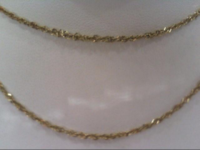 Gold Chain 10K Yellow Gold 3g
