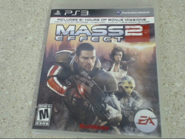 MASS EFFECT 2 - PLAYSTATION 3 GAME
