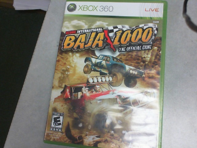 MICROSOFT Microsoft XBOX 360 Game XBOX 360 BAJA 1000