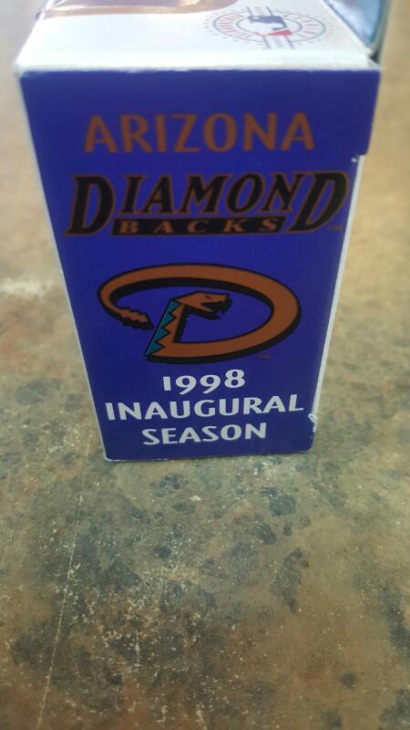 ARIZONA DIAMONDBACKS Collectible Plate/Figurine 1998 INAUGURAL TRUCK