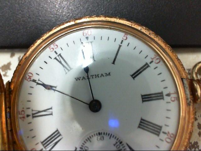 GRUEN AMERICAN WALTHAM COMPANY POCKET WATCH