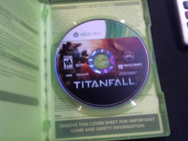 MICROSOFT Microsoft XBOX 360 Game TITANFALL XBOX360