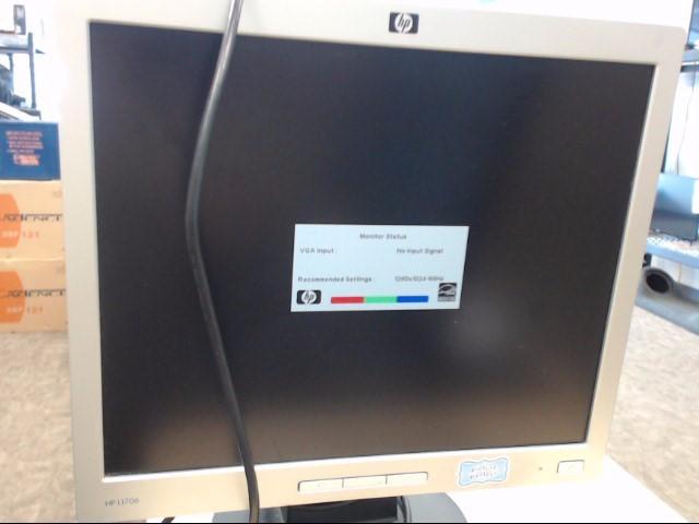 HEWLETT PACKARD Monitor L1706