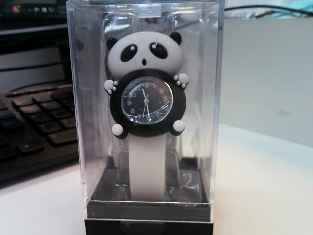 ACCUTIME Lady's Wristwatch PANDA WATCH