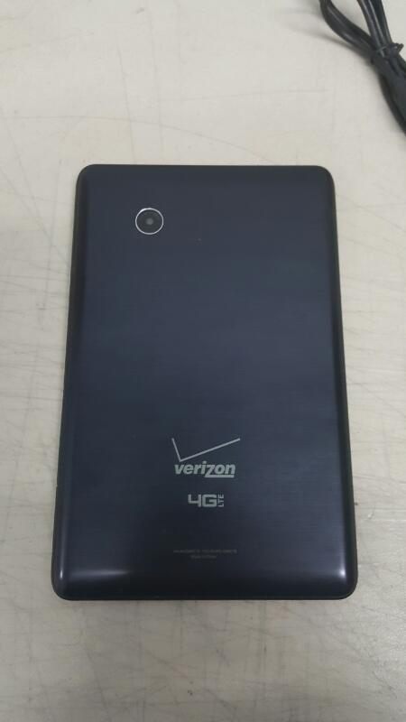 "Verizon Ellipsis 7, 8gb (7"", QMV7B, Black, Verizon)"
