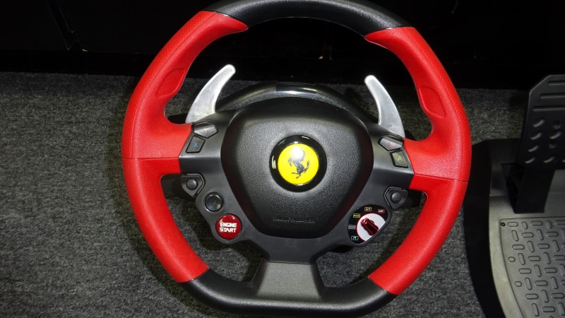 THRUSTMASTER Video Game Accessory FERRARI 458 SPIDER RACING WHEEL