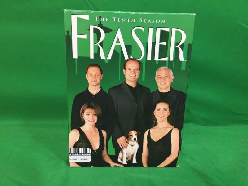 DVD BOX SET FRASIER THE TENTH SEASON