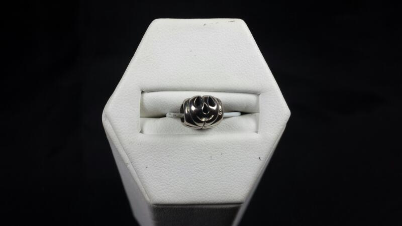 New Reflections Jack-O-Lantern Bead 925 Silver