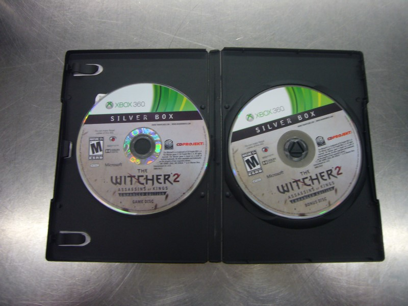 MICROSOFT XBOX 360 Game WITCHER 2 ASSASSINS OF KINGS ENHANCED EDITION
