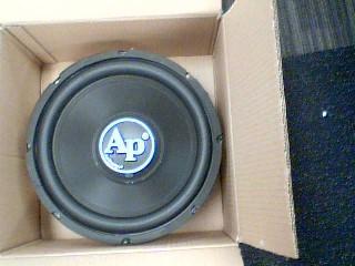 AUDIO PIPE Car Audio TSPP3124D4