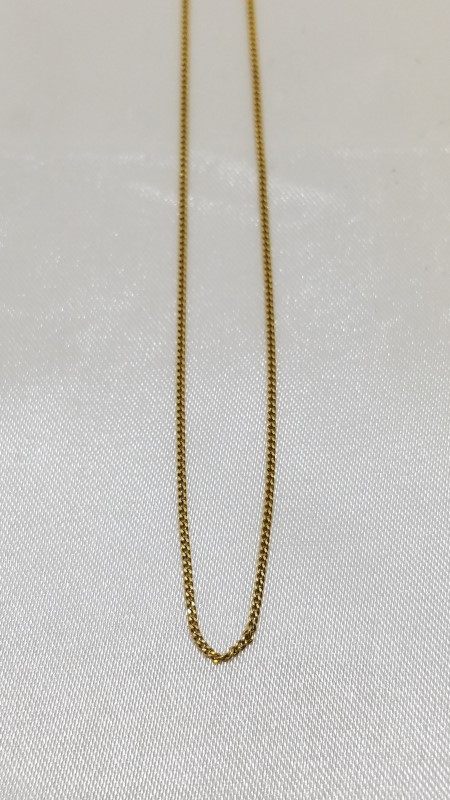 "16"" Gold Chain 14K Yellow Gold 1.6g"