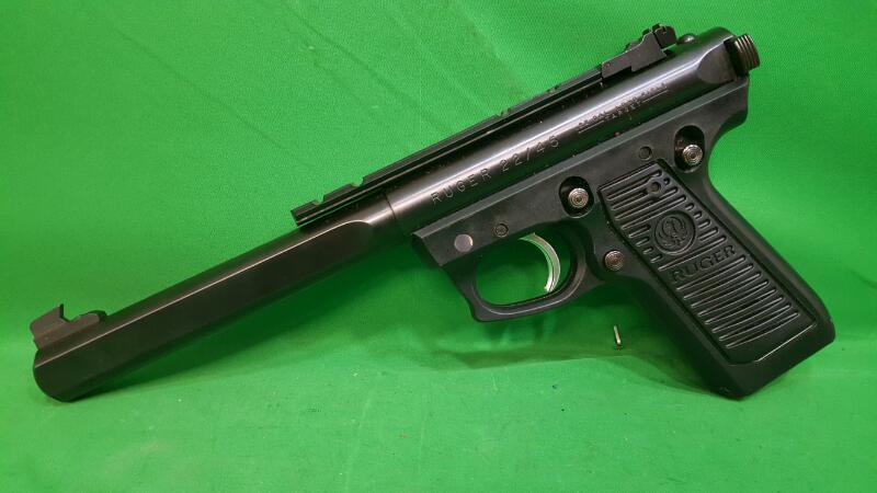 RUGER Pistol 22/45 COMPETITION TARGET MODEL Slab Side
