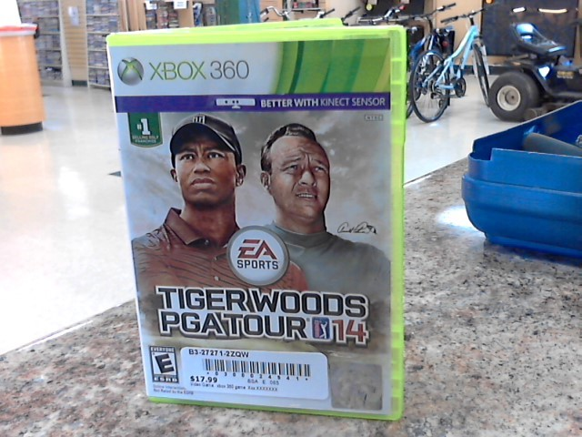 MICROSOFT Microsoft XBOX 360 Game TIGER WOODS PGA TOUR 14