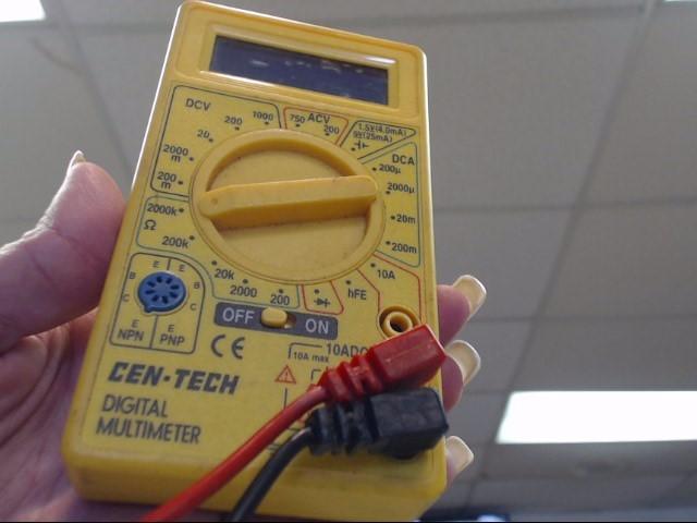 CEN-TECH Multimeter DIGITAL MULTIMETER