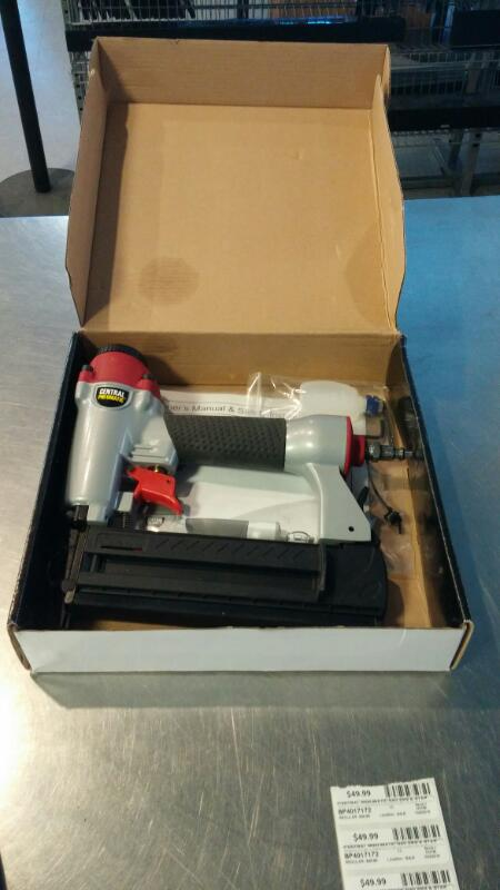 CENTRAL PNEUMATIC Nailer/Stapler 68019