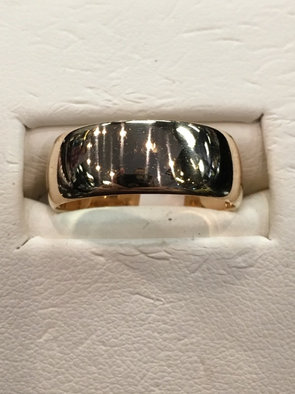 Lady's Gold Ring 18K Yellow Gold 3.7dwt Size:6.5