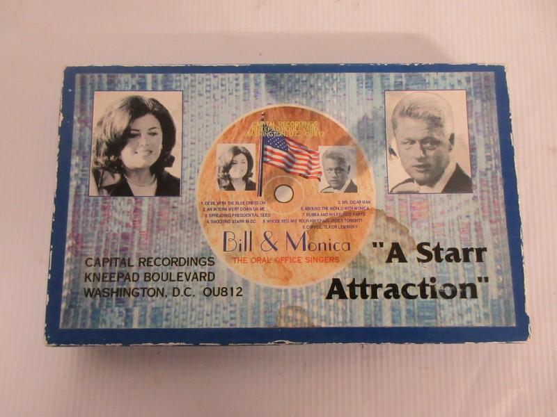 "Solingen Collector's Knife "" A Starr Attraction"" Bill Clinton & Monica Lewinsky"
