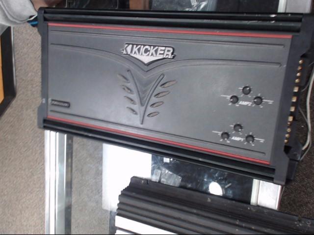 KICKER Car Amplifier ZX650.4