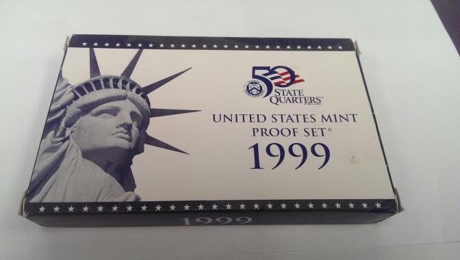 UNITED STATES 1999 UNITED STATES MINT PROOF SET