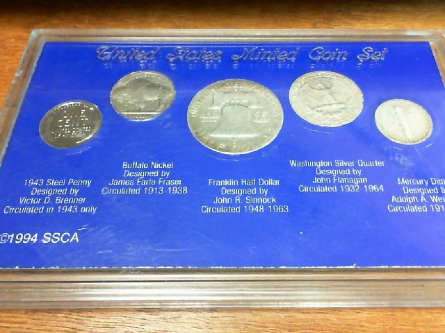 American Obsolete Collection, 5 Coins