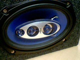 PYLE Car Speakers/Speaker System BLUE WAVE