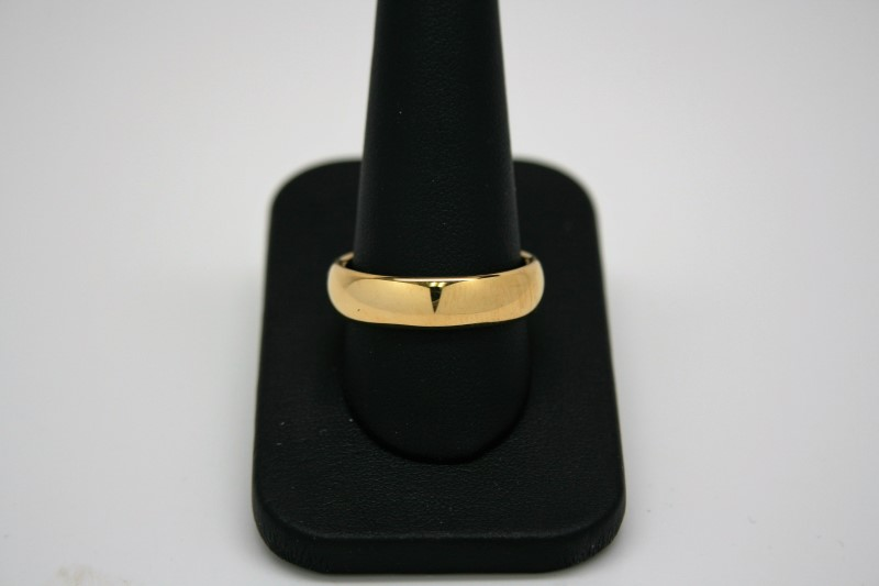GENT'S TUGSTEN RING GOLD TONE