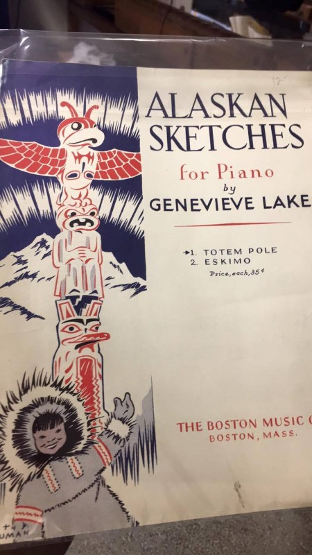 ALASKAN SKETCHES FOR PIANO BY GENEVIEVE LAKE