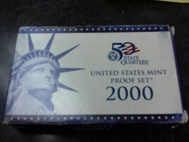 UNITED STATES Mint Set 2000 MINT PROOF SET