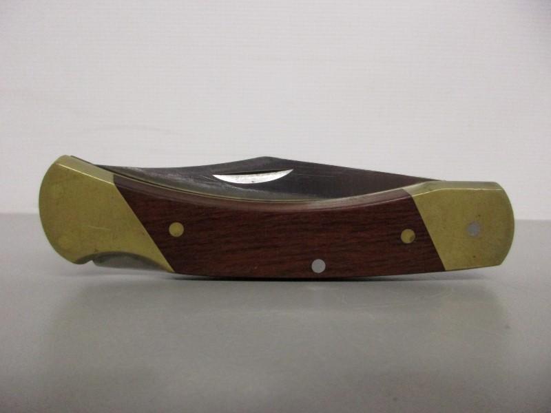 SCHRADE LB7 UNCLE HENRY FOLDING LOCKBACK KNIFE
