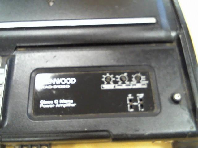 KENWOOD Car Amplifier KAC-9103D