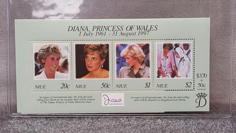 International Collectors Society - Princess Diana Stamps