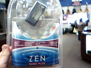 CREATIVE LABS MP3 ZEN NANO PLUS