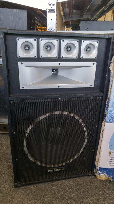 "PRO STUDIO PA Speakers/Subwoofer PS81 15"""