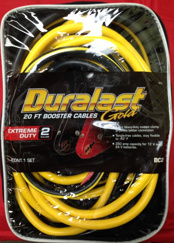 DURALAST JUMPER CABLES