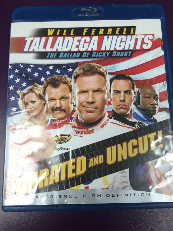 TALLADEGA NIGHTS: THE BALLAD OF RICKY BOBBY UNRATED BLU-RAY