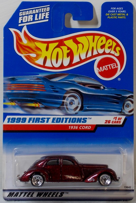 HOT WHEELS 1999 FIRST EDITIONS, 15 CARS ONLY