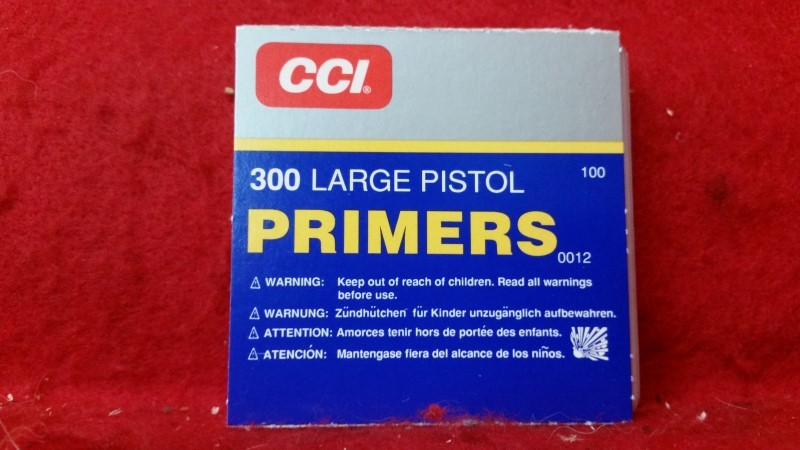 CCI 300 Large Pistol Primers - QTY 100